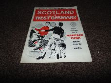 Scotland v West Germany, 1969 [WC]